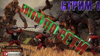 СТРИМ Total War: Warhammer СЕТЕВЫЕ БИТВЫ