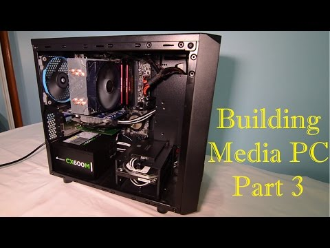 Thermaltake Versa H15 Build Part 3: Drive mounting, Build and Finishing