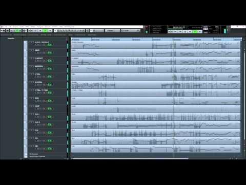 EastWest Orchestra Gold and Hollywood Strings - Cubase project very realistic performance