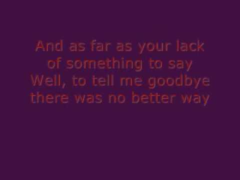 Kindly Unspoken - Kate Voegele with lyrics