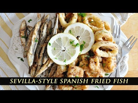 Spanish Fried Fish Tapas - Pescaito Frito Recipe