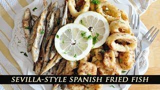 Spanish Fried Fish Tapas - Pescaito Frito Recipe