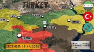 Война в Сирии. 14 декабря 2016 года  Военная обстановка в Сирии  Оборона базы Т 4 Тияс