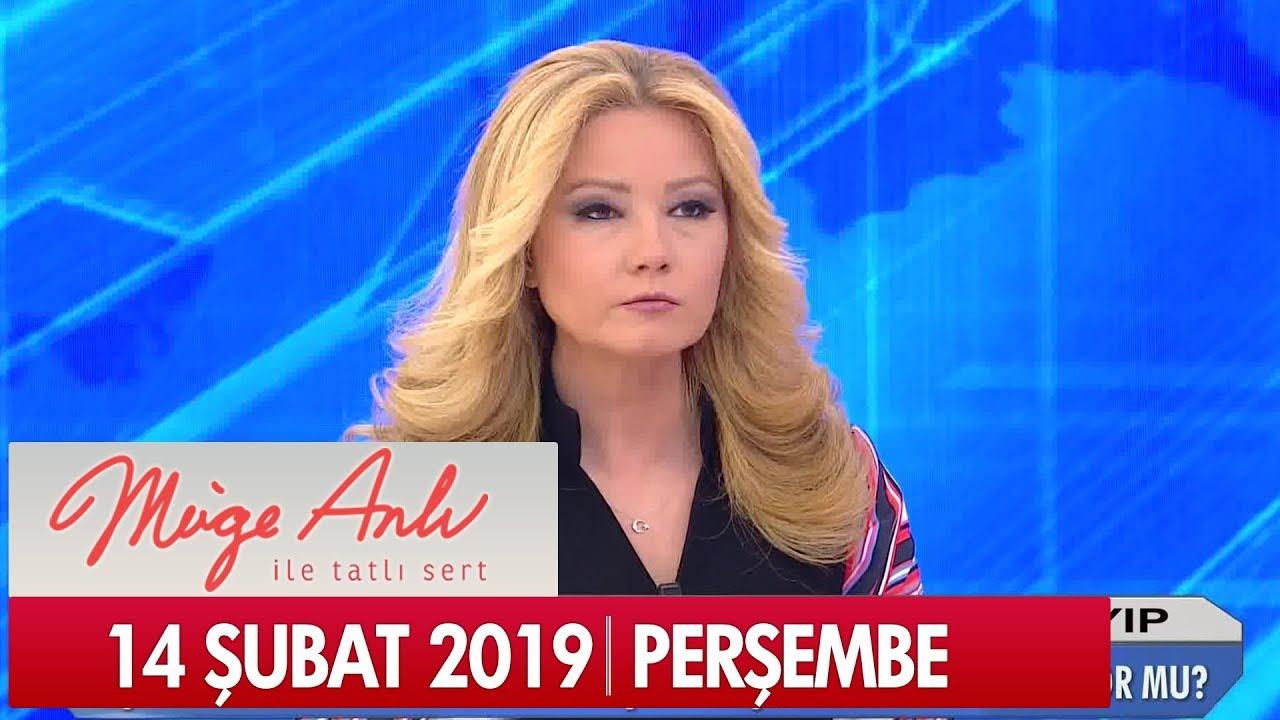 Müge Anlı ile Tatlı Sert 14 Şubat 2019 Perşembe - Tek Parça