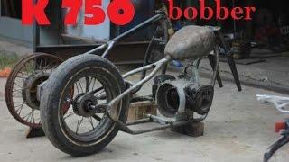 Как построить боббер из урала днепра или к750 своими руками/рама