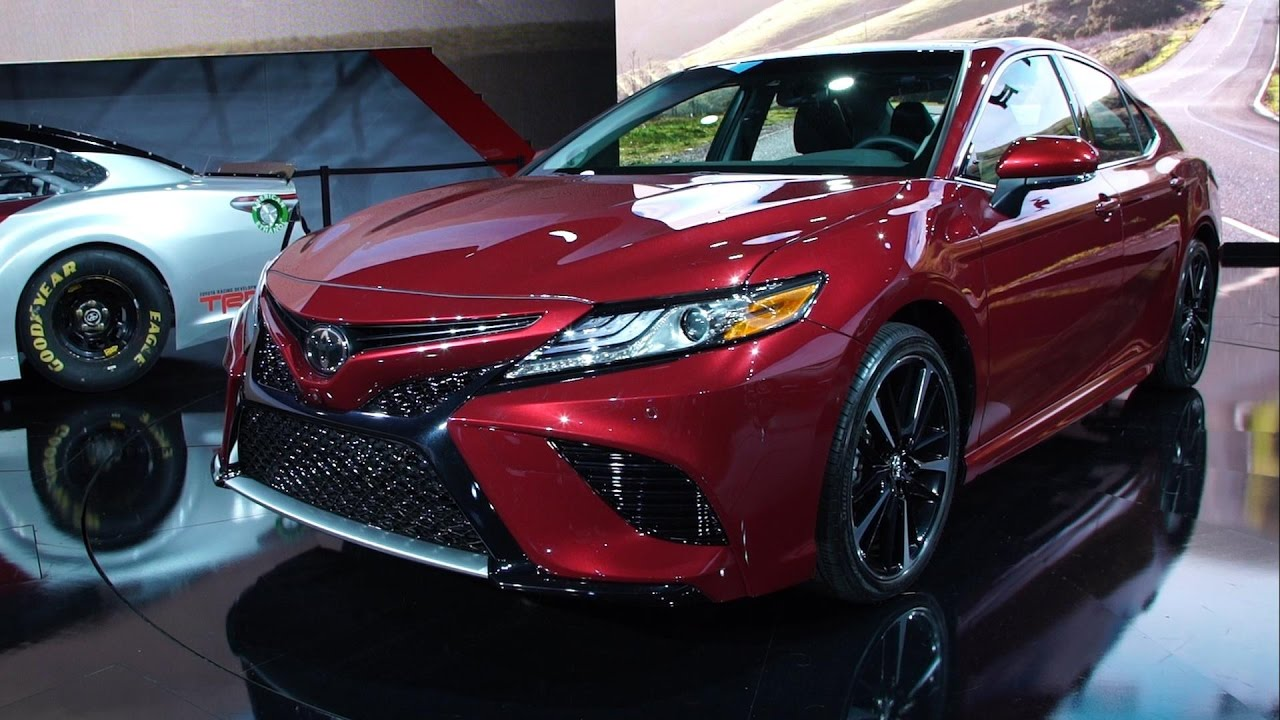 2018 toyota camry interior youtube. Black Bedroom Furniture Sets. Home Design Ideas