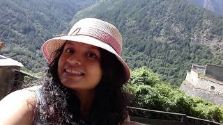 Visitando la montaña de Pragelato - Forte di Fenestrelle