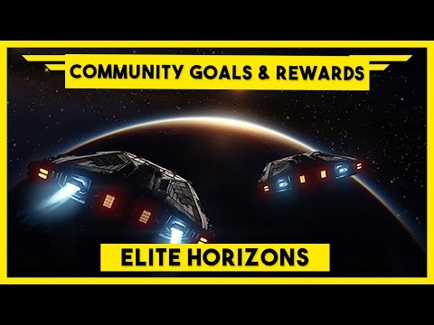 Elite Dangerous Community Goals & Rewards - Unique Bulletin Board Missions