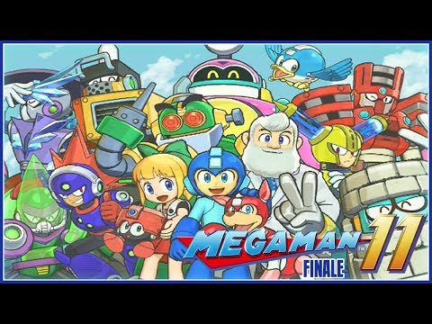 Mega Man 11 Finale - Dr. Wily's Gear Fortress (Superhero Difficulty) - 동영상