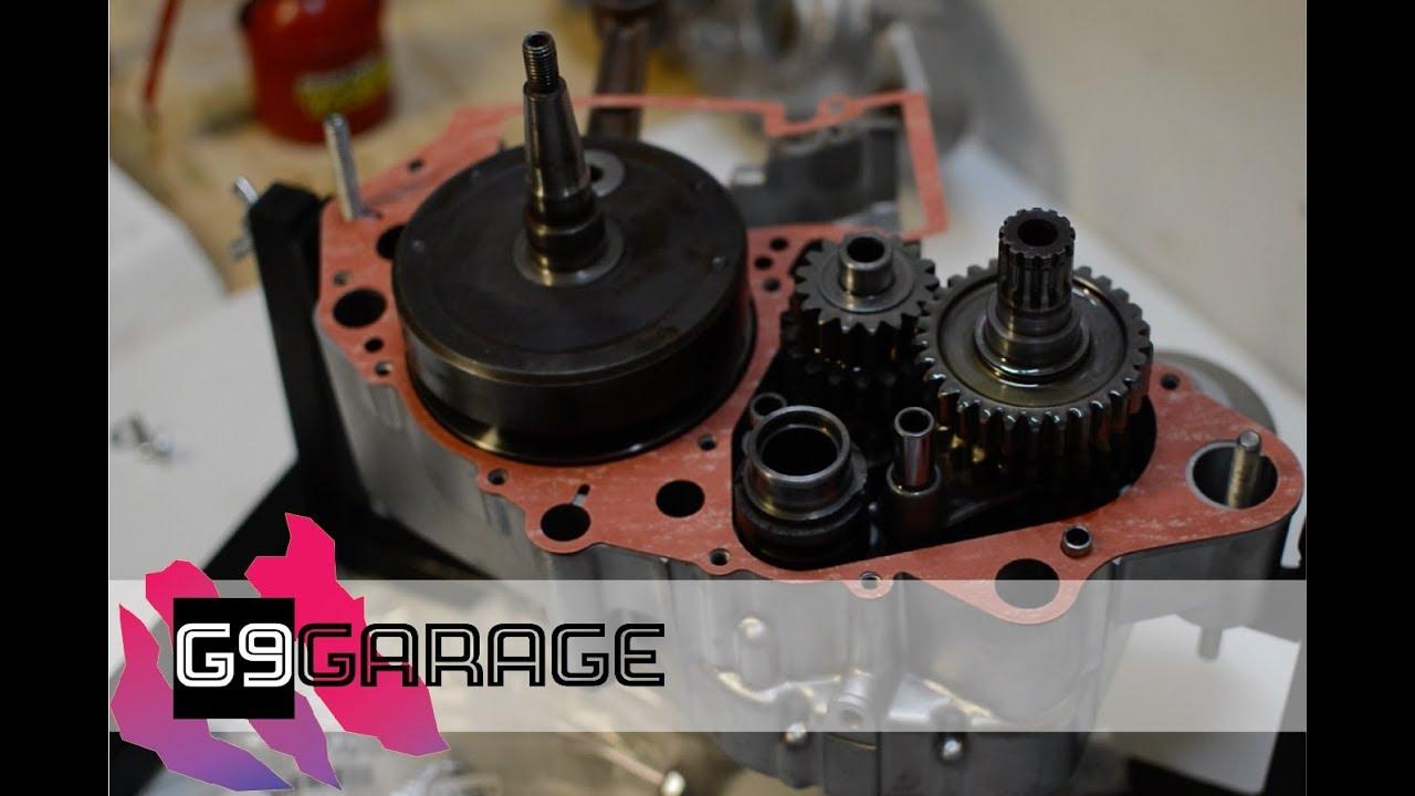 Engine Assembly (Part 1) - 1992 RM250 Restoration - Episode 8
