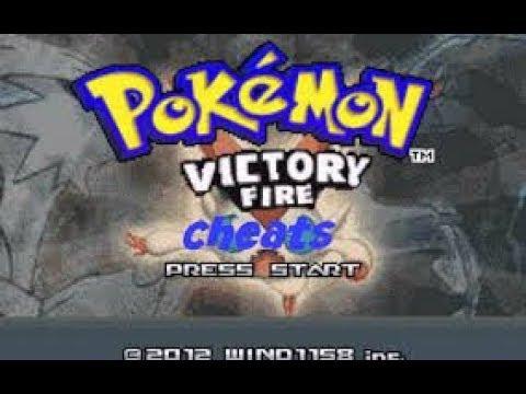100%  Working Cheats For Pokemon Victory Fire Rom|| NOVA GAMING