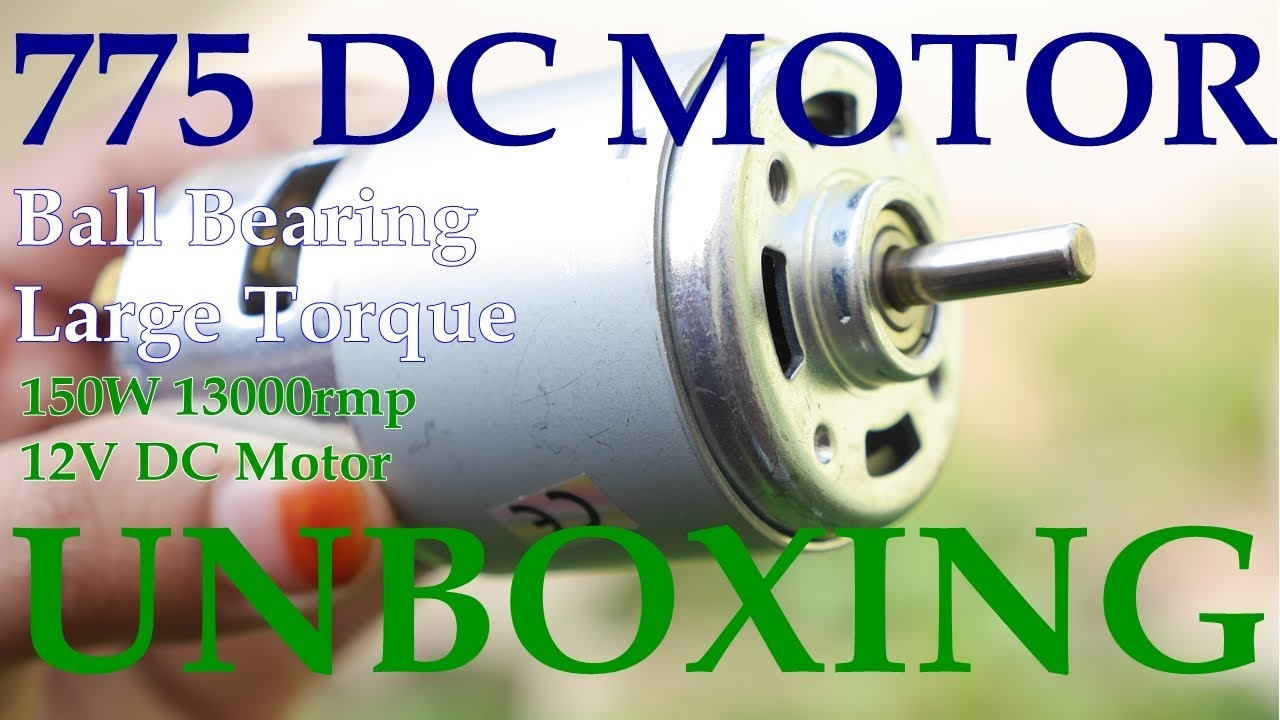 DC 12V 100W 13000 15000rpm 775 motor High speed Large torque