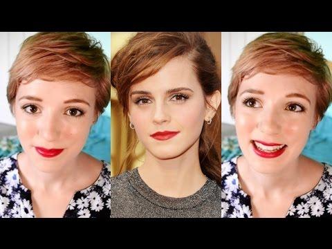 Emma Watson Red Carpet/Graduation Makeup