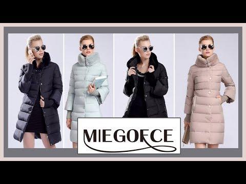 Пуховик с Алиэкспресс Aliexpress. Верхняя одежда.MIEGOFCE  2019 - 2020.