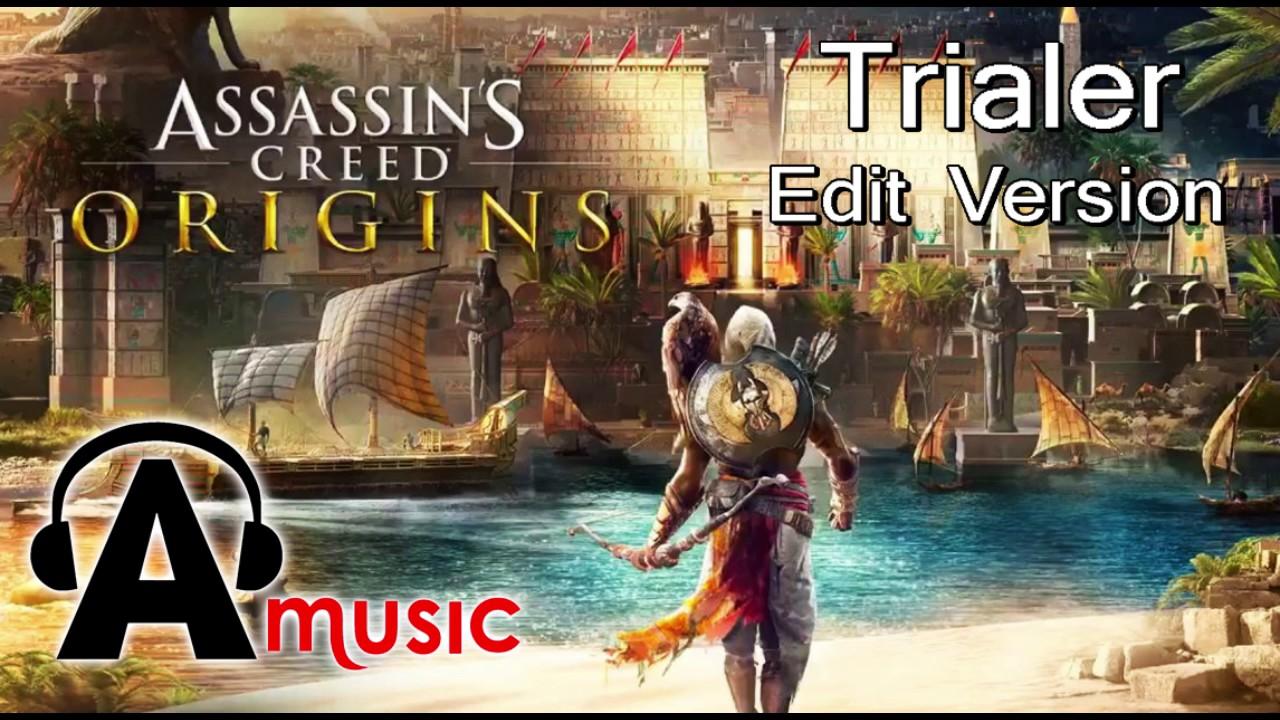 Assassin S Creed Origins Gameplay Trailer Music Youtube
