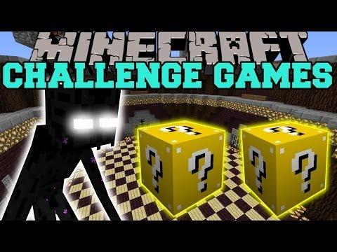 Minecraft: MUTANT ENDERMAN CHALLENGE GAMES - Lucky Block Mod - Modded Mini-Game