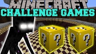 Minecraft: MUTANT ENDERMAN CHALLENGE GAMES - Lucky Block Mod - Modded Mini-Game