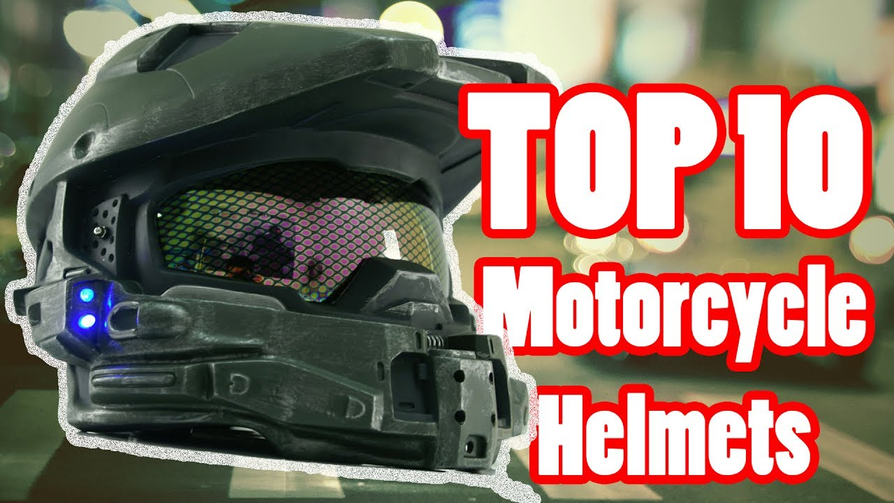 213c5bfd Top 10 Best Motorcycle Helmets in 2018 - YouTube
