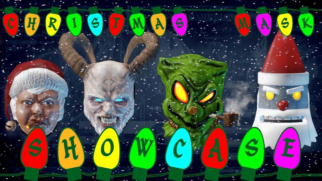 Payday 2: Christmas Mask Showcase - YouTube