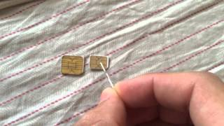 Cutting sim chip to fit iPhone 5s