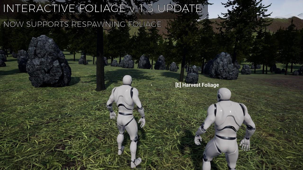 Procedural Foliage System Tutorial Unreal Engine 4 Youtube