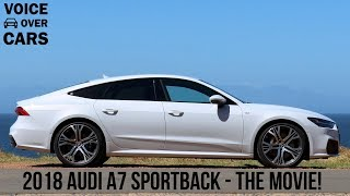 2018 Audi A7 Sportback Fahrbericht Fahreindruck Test Review Tech-Check