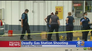 Woman Killed In North Hollywood Gas Station Shooting