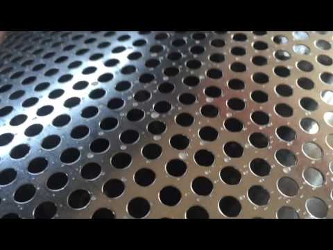 perforated metal mesh machine for rol