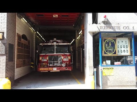 FDNY - Squad Co.  252 Acting Rescue 1 - In House Visit