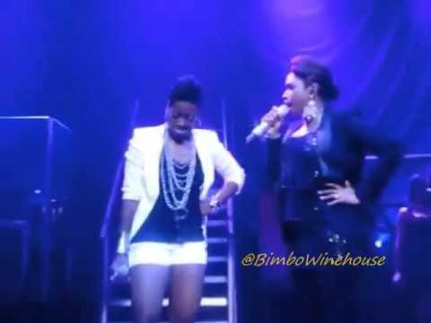 Good stuff! Fantasia & Jennifer Hudson Go Toe-To-Toe On Stage