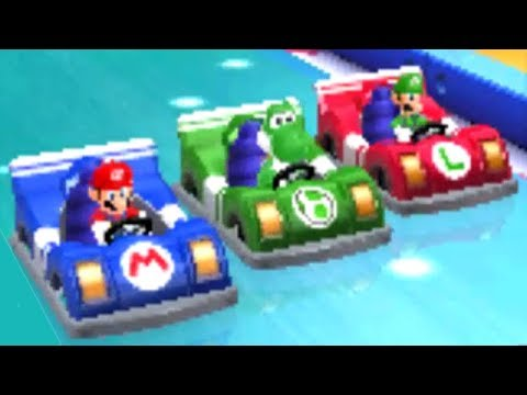 Mario Party: Island Tour - All General Minigames (2 Player)