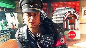 WOLFENSTEIN 2 Gameplay : Nazi Encounter (2017) PS4 / Xbox One / PC