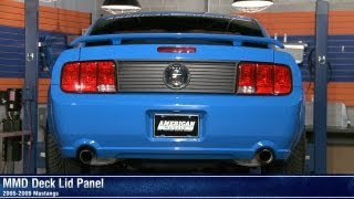 Mustang MMD Deck Lid Panel (05-09 All) Review