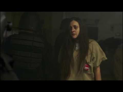 Orange Is The New Black: Piscatella's death extended scene HD