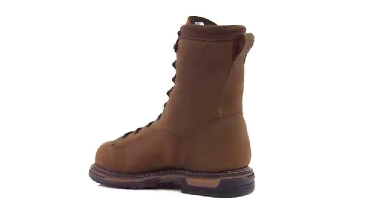 Rocky IronClad Waterproof Work Boot Style# - 5698 - YouTube