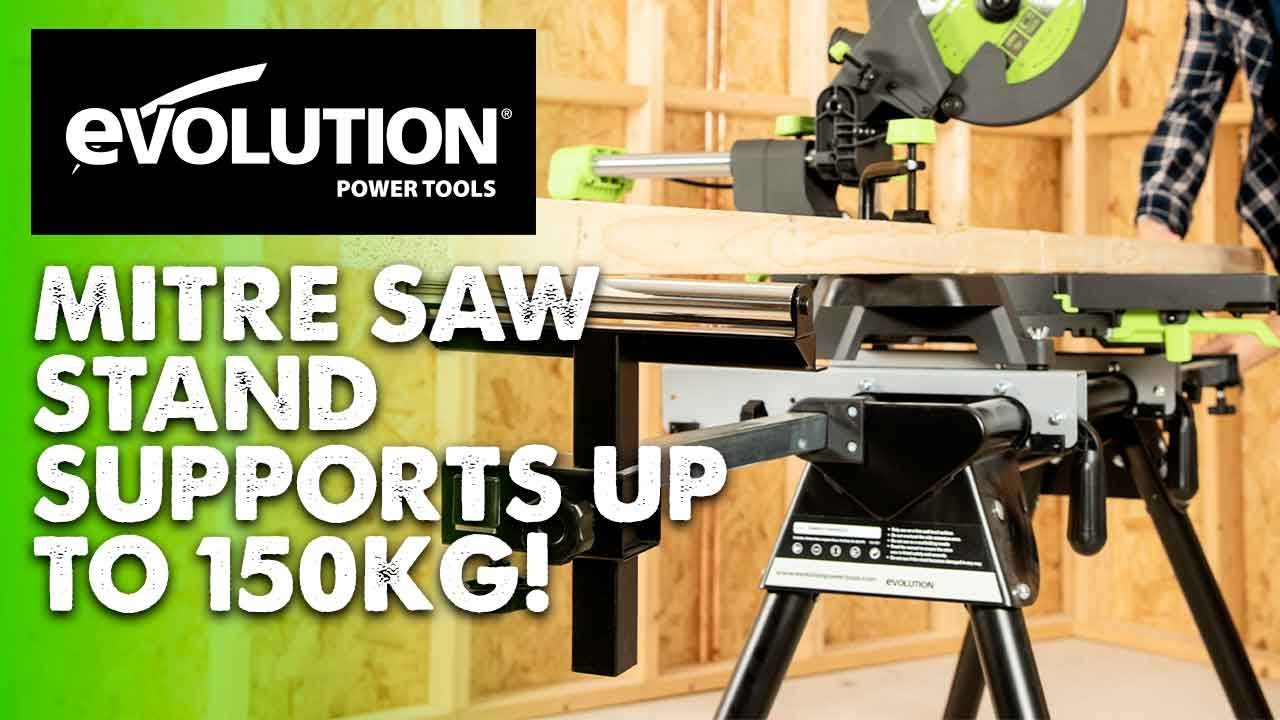 Evolution Mitre Saw Miter Saw Stand Compact Amp Portable