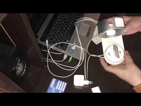 Док станция DIY 3 в 1 для IPhone, Apple Watch и Airpods /Посылка из Китая,