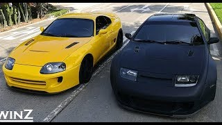 SUPRA VS 300ZX -||- Versus Series (PART 2)
