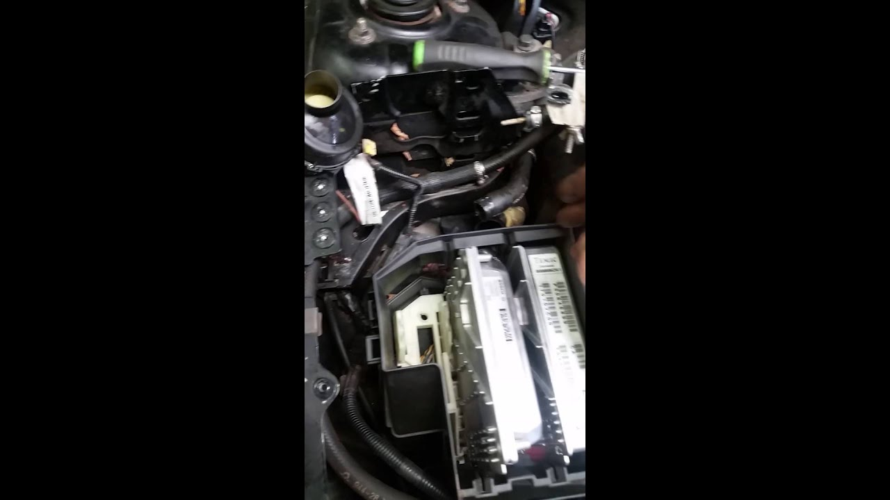 Volvo ECM Computer removal No special Tools - YouTube