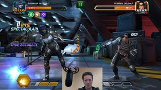 6 Star Proxima Midnight in Action-Marvel Contest of Champions