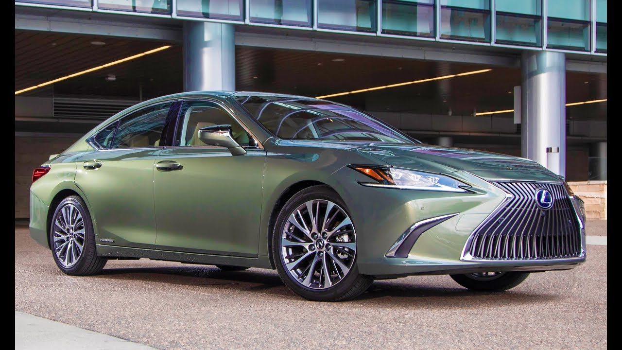 2019 Lexus Es 300h Sunlight Green Interior Exterior And Drive