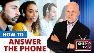 Customer Service Training: How to Answer the Phone Correctly