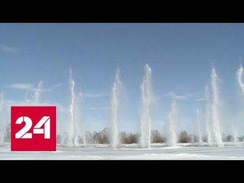 На Алтае и в Татарстане саперы сняли угрозу подтопления сел - Россия 24
