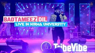 Badtameez Dil Live  || Ft. Benny Dayal || Institute of Management, Nirma University || PR10