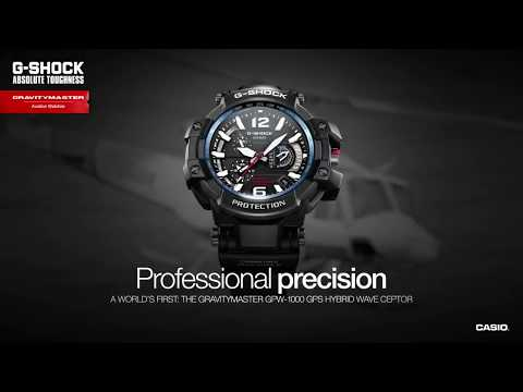 Casio G SHOCK Master of G Gravitymaster GPW-1000-1ADR GPS Watch - Unboxing & Review