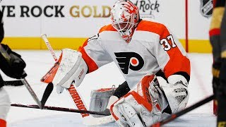 Elliott Makes it 4 Flyer Goalies, Eaves Waived and News of the Day