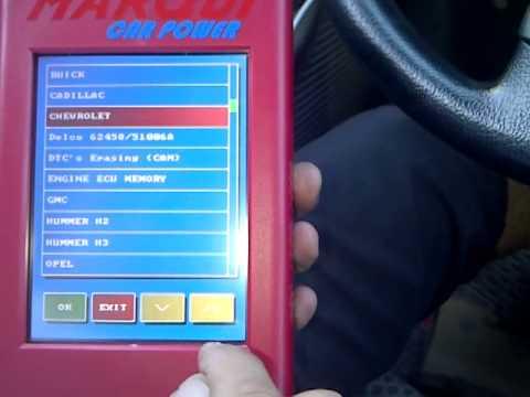 Reprogramcion de Km Chevrolet Corsa 2010