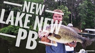 Fishing a new lake  *PB BASS*