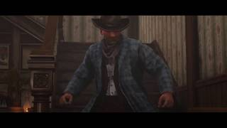 Red Dead 2 Online-Billy The Kid Gets In A Barfight(Moonshiner Mission)