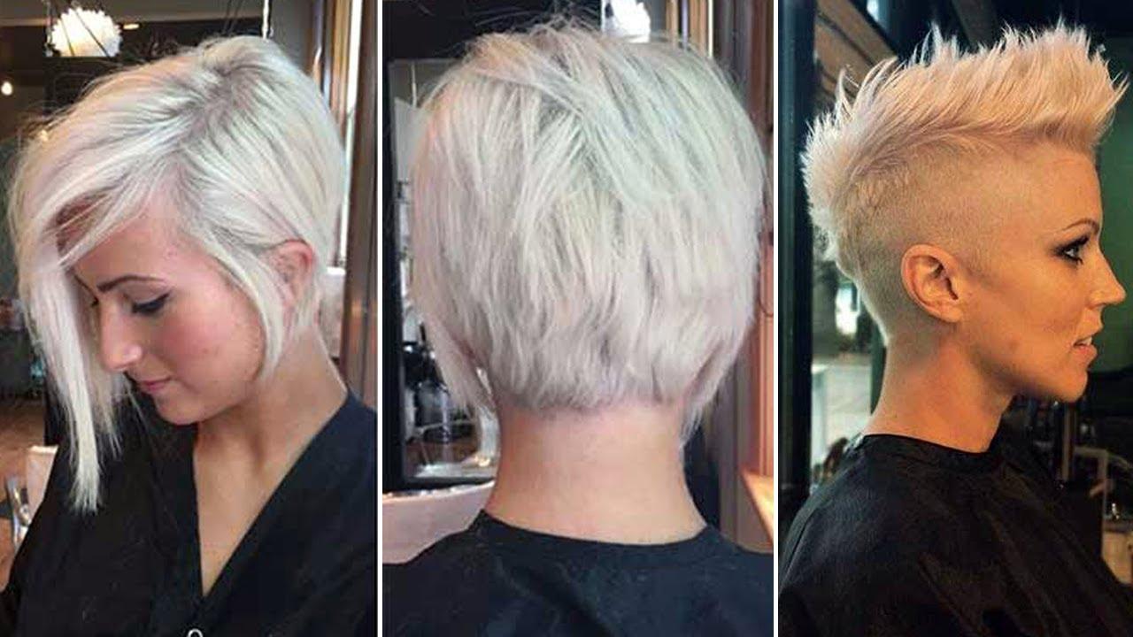 Peinados en pelo corto de mujer